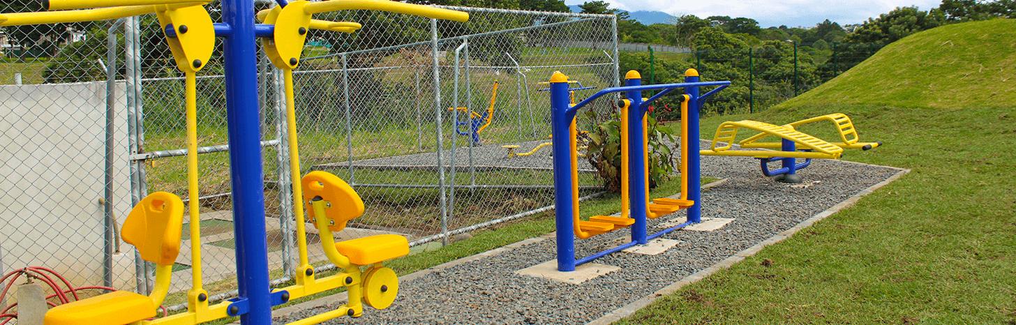 Condominio con gimnasio al aire libre Lagunilla Heredia
